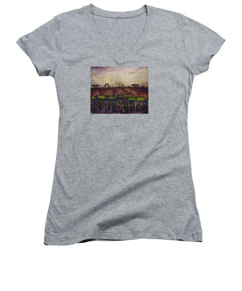 Other World 4 Women's V-Neck T-Shirt