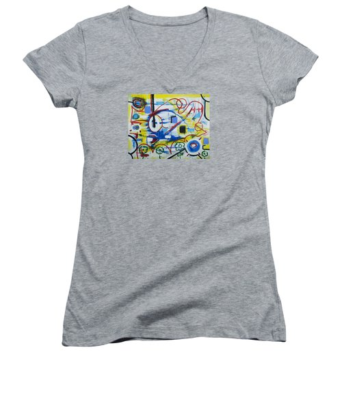 Our World Women's V-Neck T-Shirt