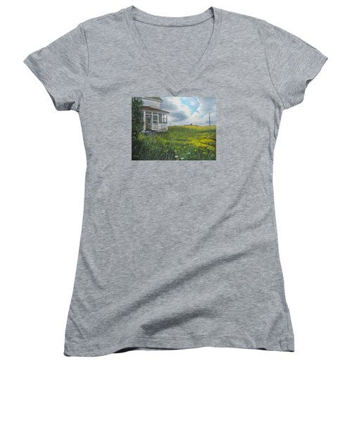 Out Back Women's V-Neck