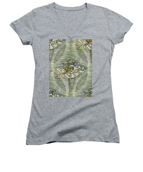 Out Of The Mist 2 Women's V-Neck T-Shirt