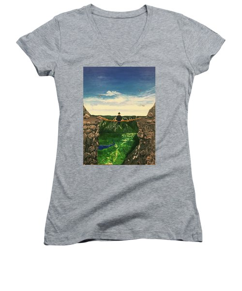 Out On A Limb Women's V-Neck