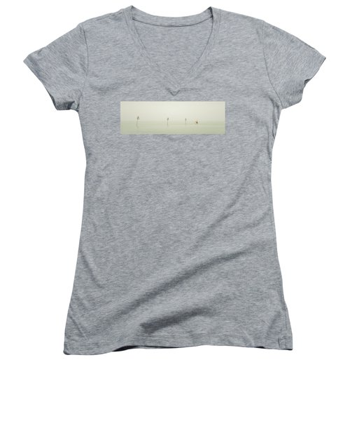 Out To Sea Women's V-Neck