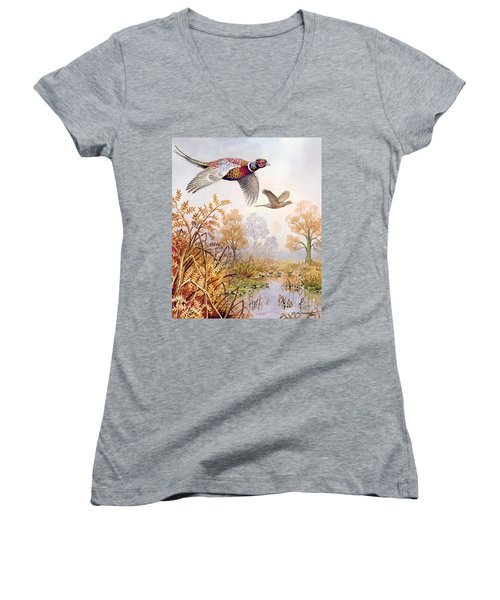 Over The Fen Women's V-Neck (Athletic Fit)