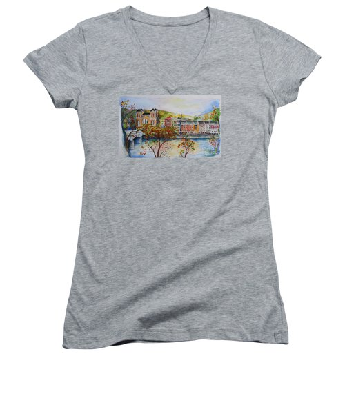 Owego Women's V-Neck T-Shirt
