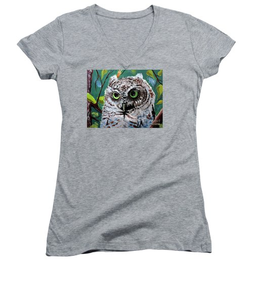 Owl Be Seeing You Women's V-Neck T-Shirt
