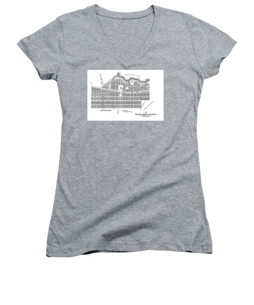 Pacific Grove May 7 1887 Women's V-Neck