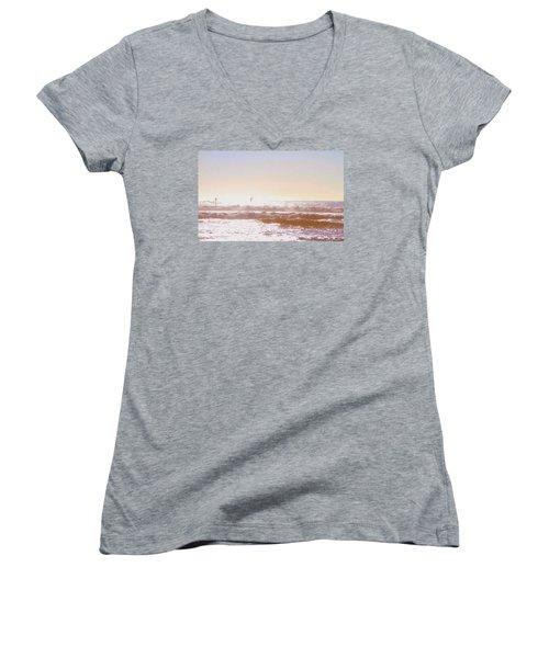 Paddleboarders Women's V-Neck T-Shirt