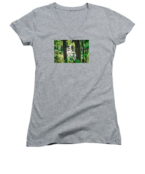 Page 13 Women's V-Neck T-Shirt