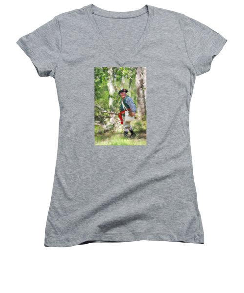 Page 14a Women's V-Neck T-Shirt