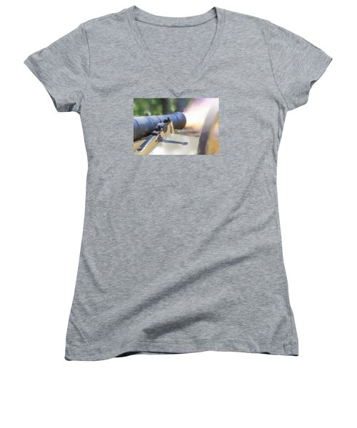 Page 21 Women's V-Neck T-Shirt