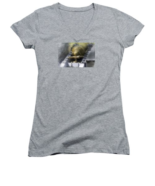 Page 24 Women's V-Neck T-Shirt