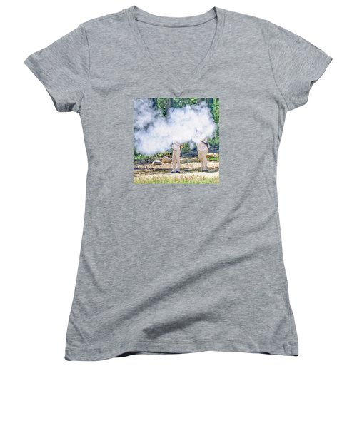 Page 27 Women's V-Neck T-Shirt