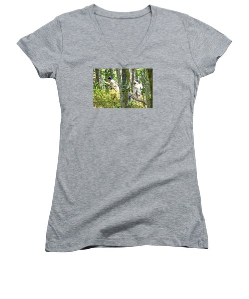 Page 32 Women's V-Neck T-Shirt