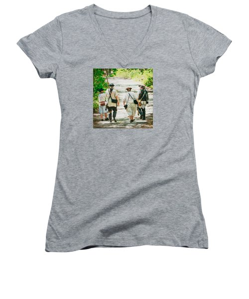Page 9 Women's V-Neck T-Shirt