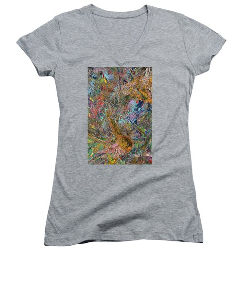 Paint Number 26 Women's V-Neck