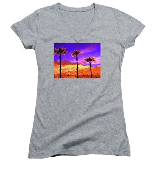 Painted Hills Women's V-Neck