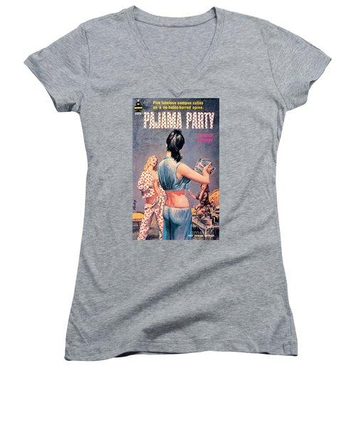 Pajama Party Women's V-Neck