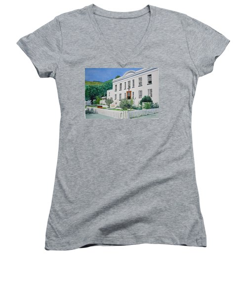 Palace Barracks Women's V-Neck T-Shirt