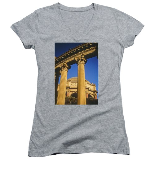 Palace Of Fine Arts, San Francisco Women's V-Neck