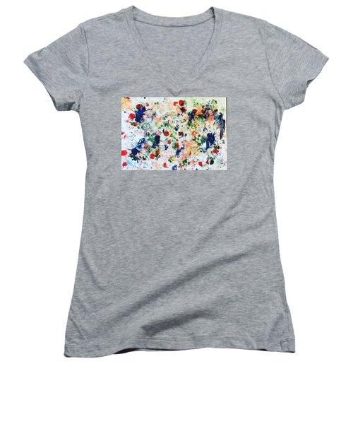 Palm Springs No 1 Women's V-Neck T-Shirt