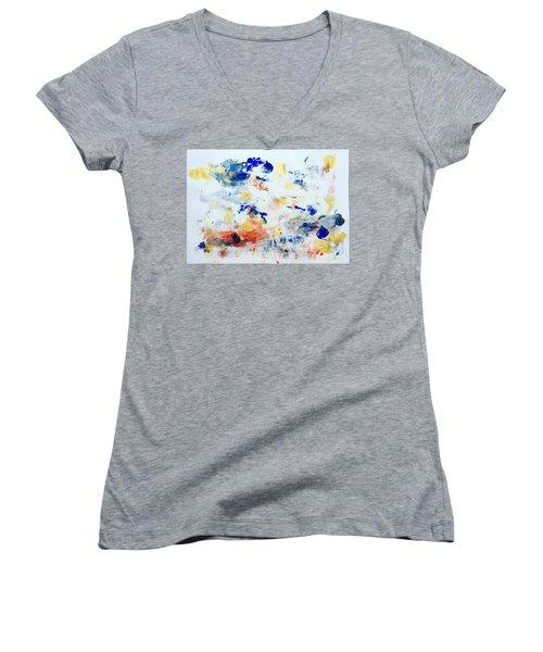 Palm Springs No 2 Women's V-Neck T-Shirt