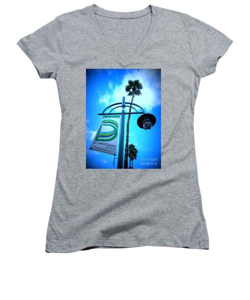 Palm Springs North Women's V-Neck T-Shirt