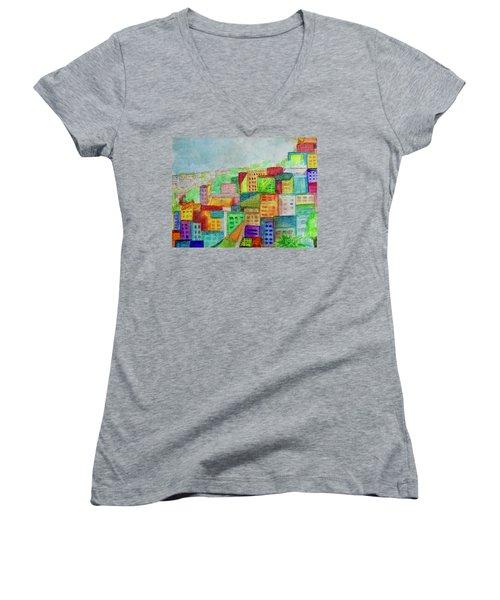 Palmyra Women's V-Neck T-Shirt