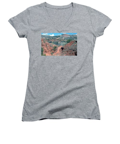 Palo Duro Canyon Women's V-Neck (Athletic Fit)