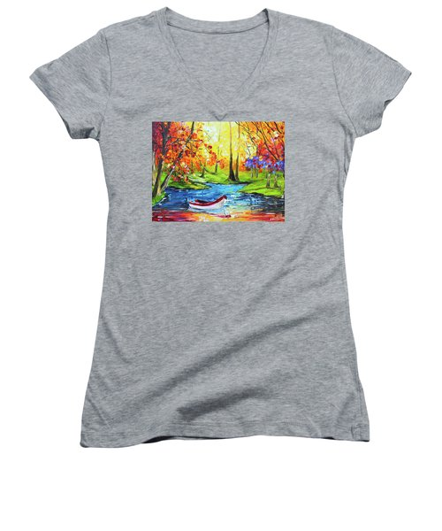 Panga Women's V-Neck