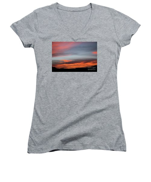 Panorama Point View Capital Reef Women's V-Neck