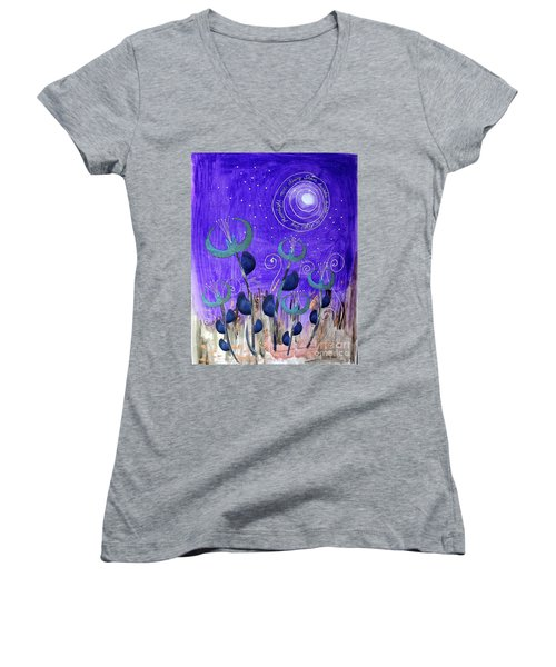 Papermoon Women's V-Neck T-Shirt