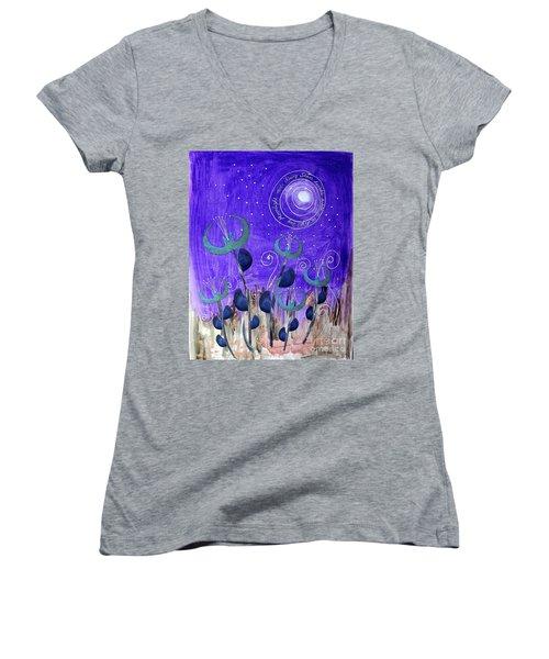 Papermoon Women's V-Neck T-Shirt