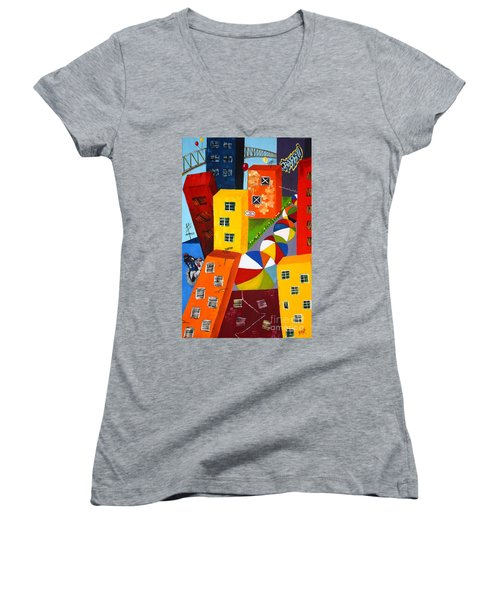 Parade The Day After Women's V-Neck T-Shirt