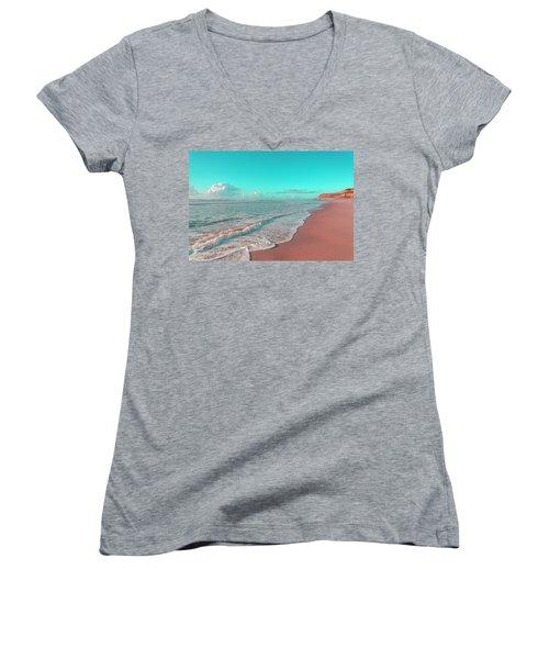 Paradisiac Beaches Women's V-Neck