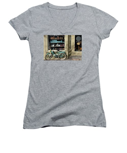 Parked Outside Women's V-Neck T-Shirt