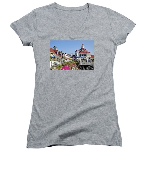 Parkers' Lighthouse Women's V-Neck T-Shirt