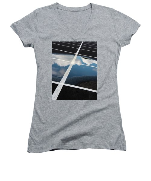 Parking Spaces For Clouds Women's V-Neck T-Shirt