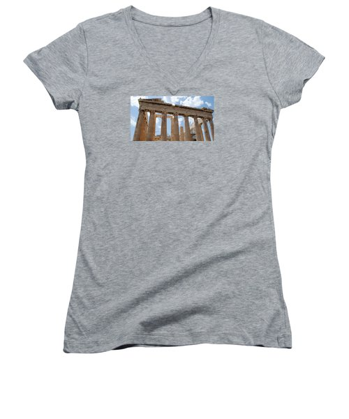 Parthenon Women's V-Neck T-Shirt