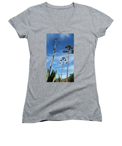 Passing Centuries Women's V-Neck (Athletic Fit)