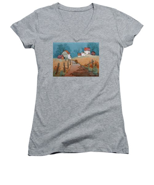 Past Perfect Women's V-Neck T-Shirt