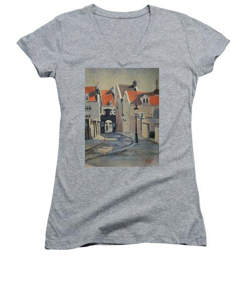 Paterspoortje Maastricht Women's V-Neck T-Shirt
