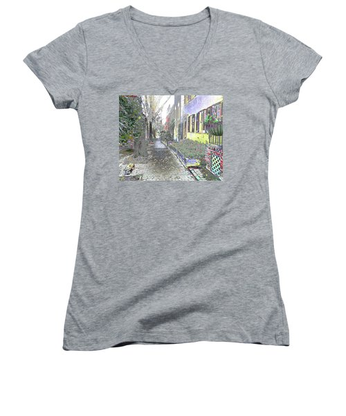 Path Beyond Women's V-Neck (Athletic Fit)