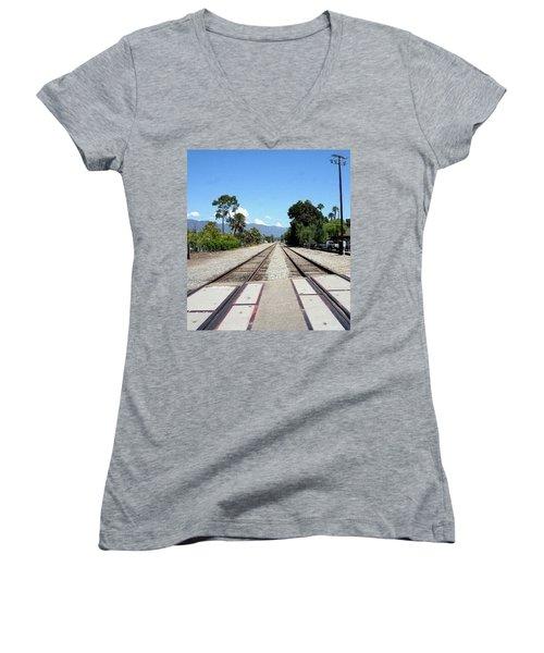 Path To Infinity Women's V-Neck T-Shirt