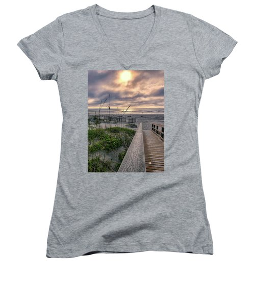 Path To Serenity Women's V-Neck (Athletic Fit)