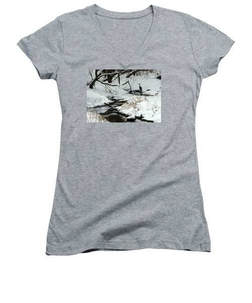 Patiently Waiting 2 Women's V-Neck T-Shirt