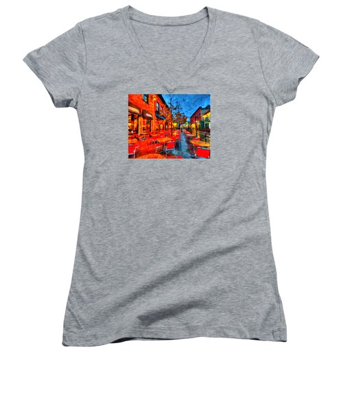 Patio Women's V-Neck T-Shirt