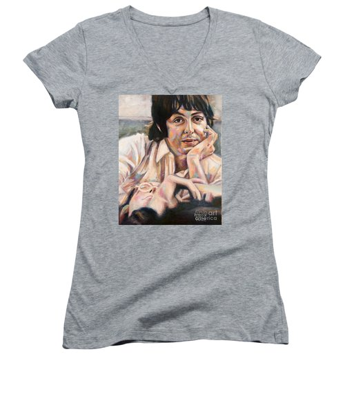 Paul And John Women's V-Neck T-Shirt