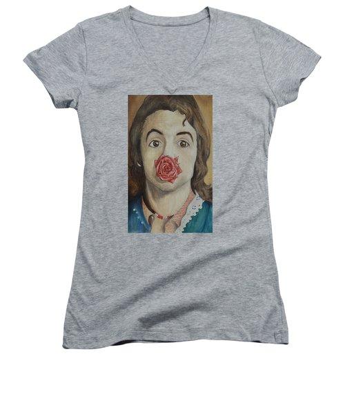 Paul Women's V-Neck T-Shirt