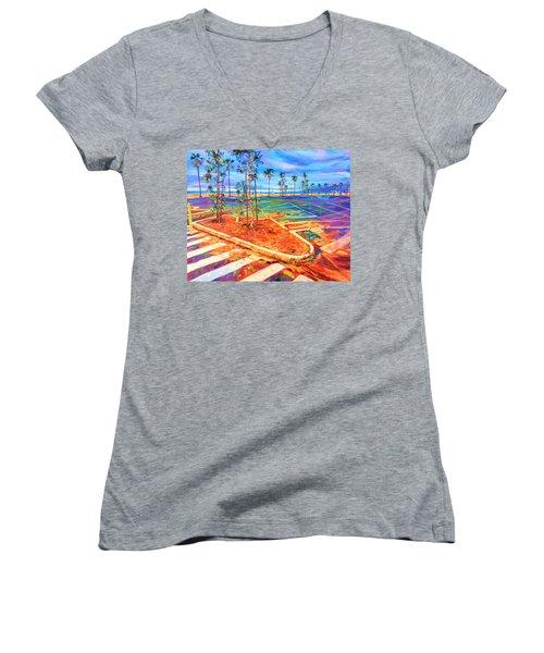 Paved Paradise Women's V-Neck T-Shirt