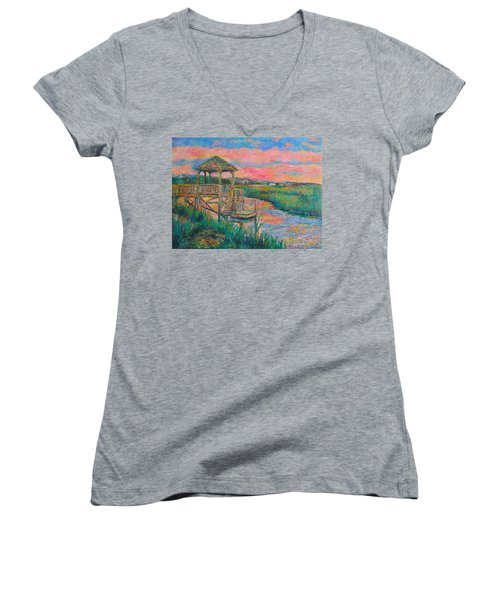Pawleys Island Atmosphere Stage Two Women's V-Neck